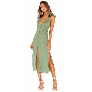Tularosa   Birdie Midi Dress